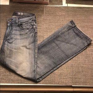 Men's Light Wash Jeans